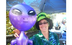 COURTESY OF BRIDGEVILLE COMMUNITY CENTER - more BridgeFest Aliens