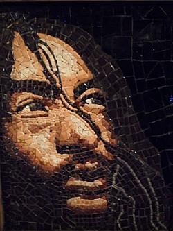 Mosaic art by Marley Goldman at Jitter Bean
