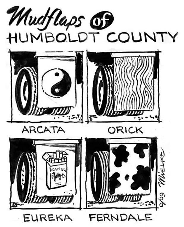 Mudflaps of Humboldt County