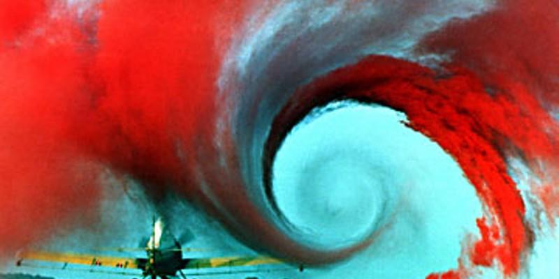 In Formation NASA wake vortex study at Wallops Islands NASA Langley Research Center, May, 1990