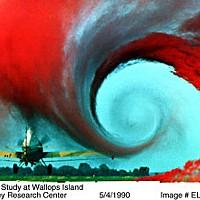 NASA wake vortex study at Wallops Islands NASA Langley Research Center, May, 1990