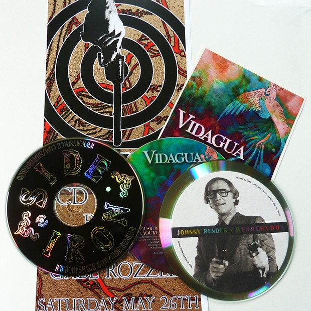 New CDs from Side Iron, Vidagua and Johnny Render - PHOTO BY BOB DORAN