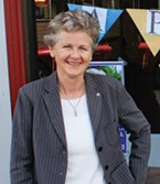 New county supervisor Estelle Fennell.