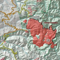 Firefighters Shift to 'Direct Attack' on Corral Complex