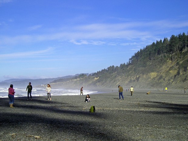 Agate Beach. - PHOTO BY KEN MALCOMSON