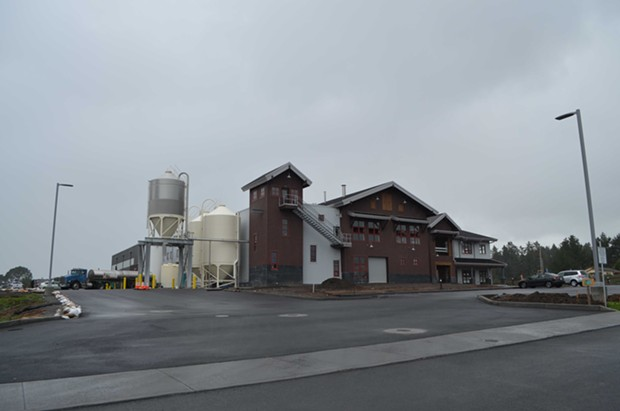 Lost Coast Brewery's new facility is located on the southern boundary of Eureka. It will feature a tasting room when opened. - GRANT SCOTT-GOFORTH