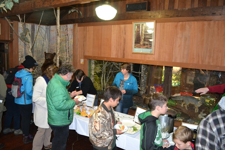25th Annual Candlelight Walk, Prairie Creek Redwoods State Park - PHOTO BY KEN MALCOMSON