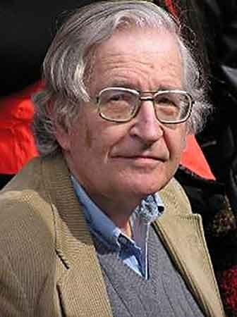 Noam Chomsky: linguist, philosopher, activist. Courtesy Duncan Rawlinson, thelastminuteblog.com