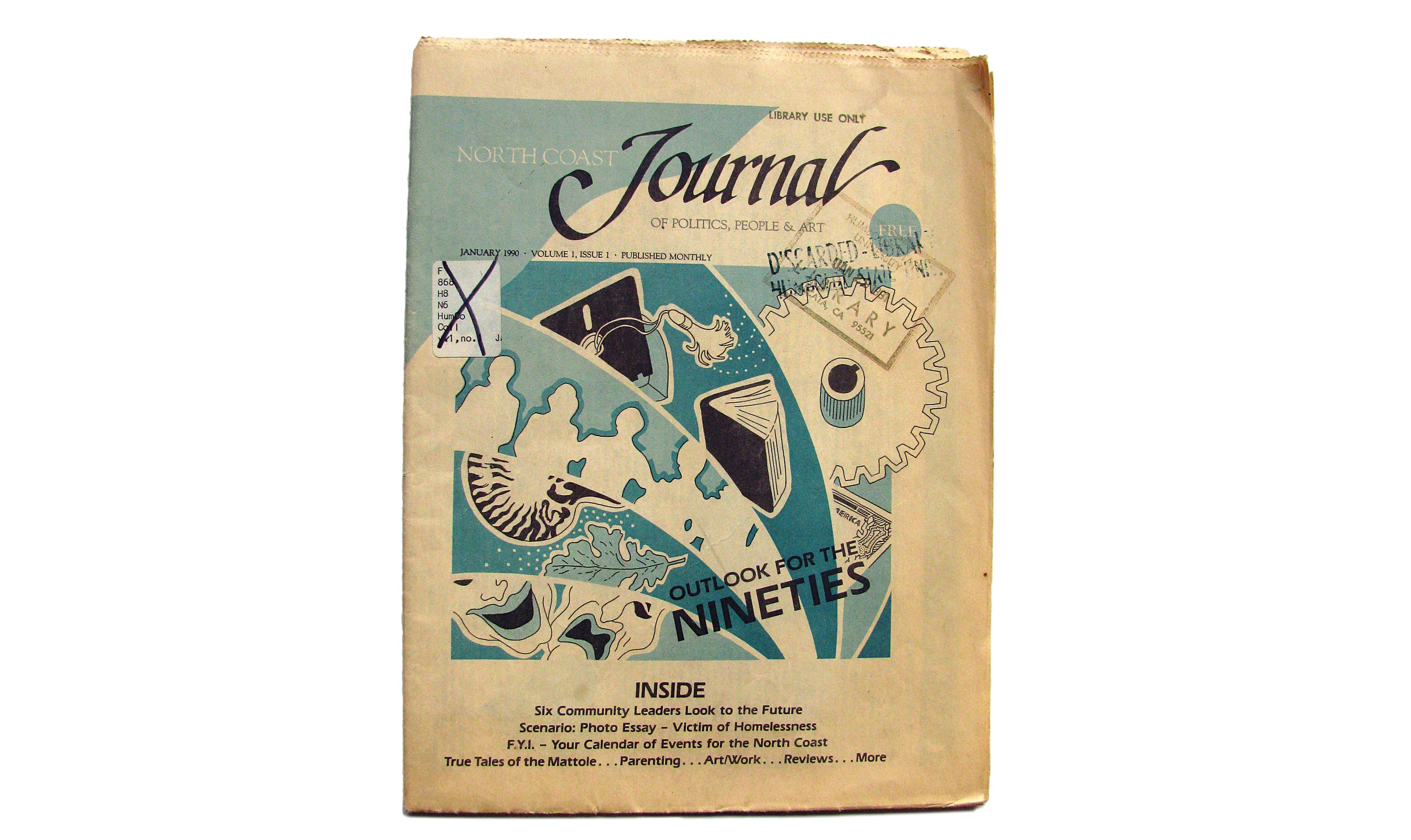 North Coast Journal January 1990, Volume 1, Issue 1