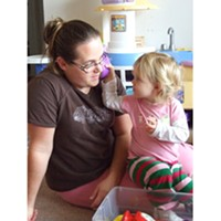 Of the 220 licensed family child care homes in Humboldt County, 157 are family child care homes similar to the one run by Carissa Bowser-Smith, pictured here with her daughter, Kirstalyn. The rest are licensed children's centers.