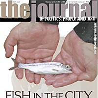 Fish In The City On the cover: A little coho found in Martin Creek. Photo courtesy of the Department of Fish and Game.