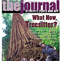 What Now, Treesitter? On the cover: Amy Arcuri, her daughter River, and Lodgepole at the base of the nearly 300-foot-tall Spooner. Photo by Heidi Walters