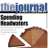 Spending Headwaters On the cover: graphic by Holly Harvey