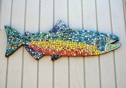 One piece at a time: Allison Sousa's mosaics are at Rare Bird (16).