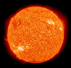NASA PHOTO - Our nearest star, the Sun, photographed in extreme ultraviolet by NASA's Solar Dynamics Observatory.