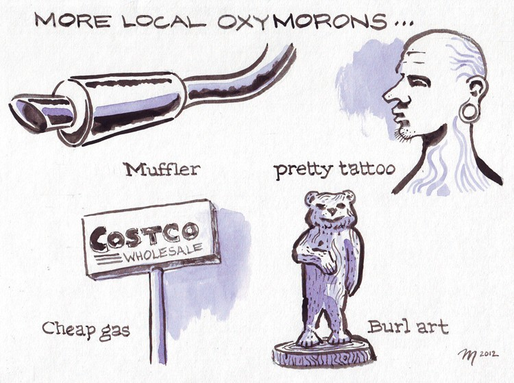Oxymorons Part Two - JOEL MIELKE