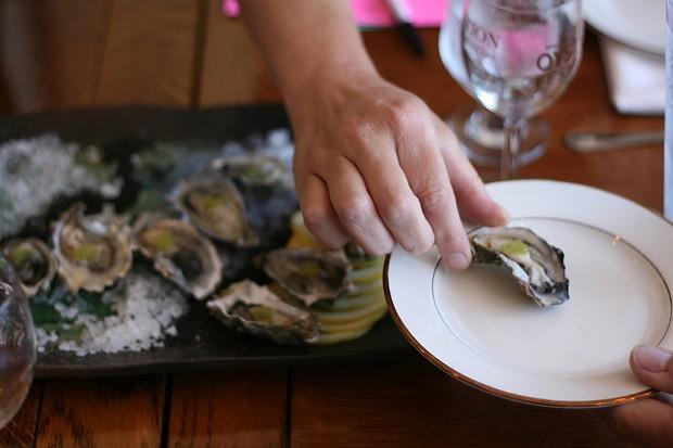 Oysters! - PHOTO BY BOB DORAN