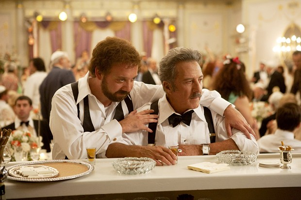 Paul Giamatti and Dustin Hoffman in Barney's Version