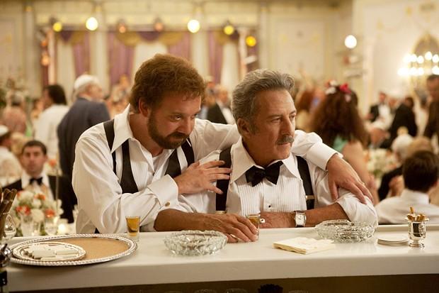 Paul Giamatti and Dustin Hoffman in Barney's Version