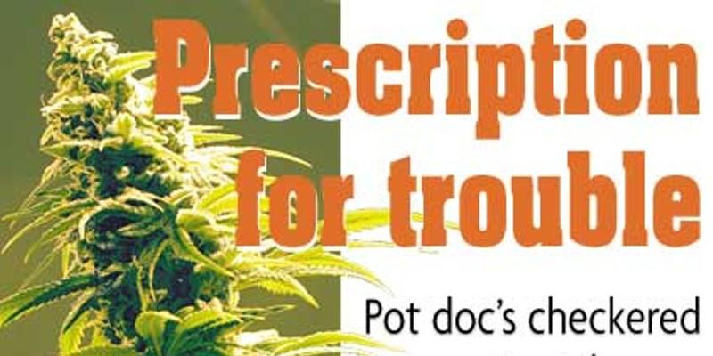 Prescription for trouble Photo by Bob Doran.