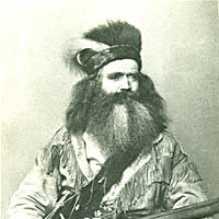 Origin Stories Photo of pioneer Seth Kinman. Courtesy of the Clarke Historical Museum.