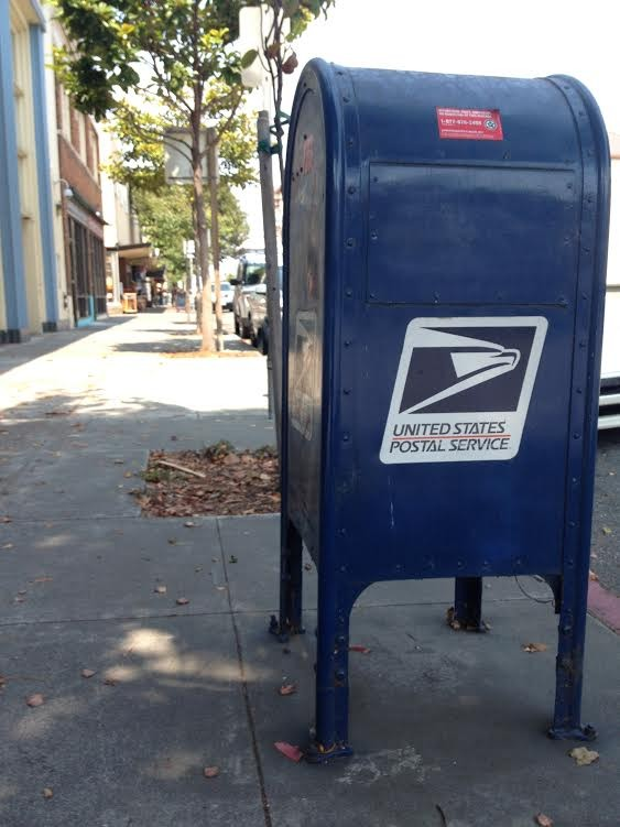 The blue box awaits you in Old Town Eureka, California. - PHOTO BY HEIDI WALTERS