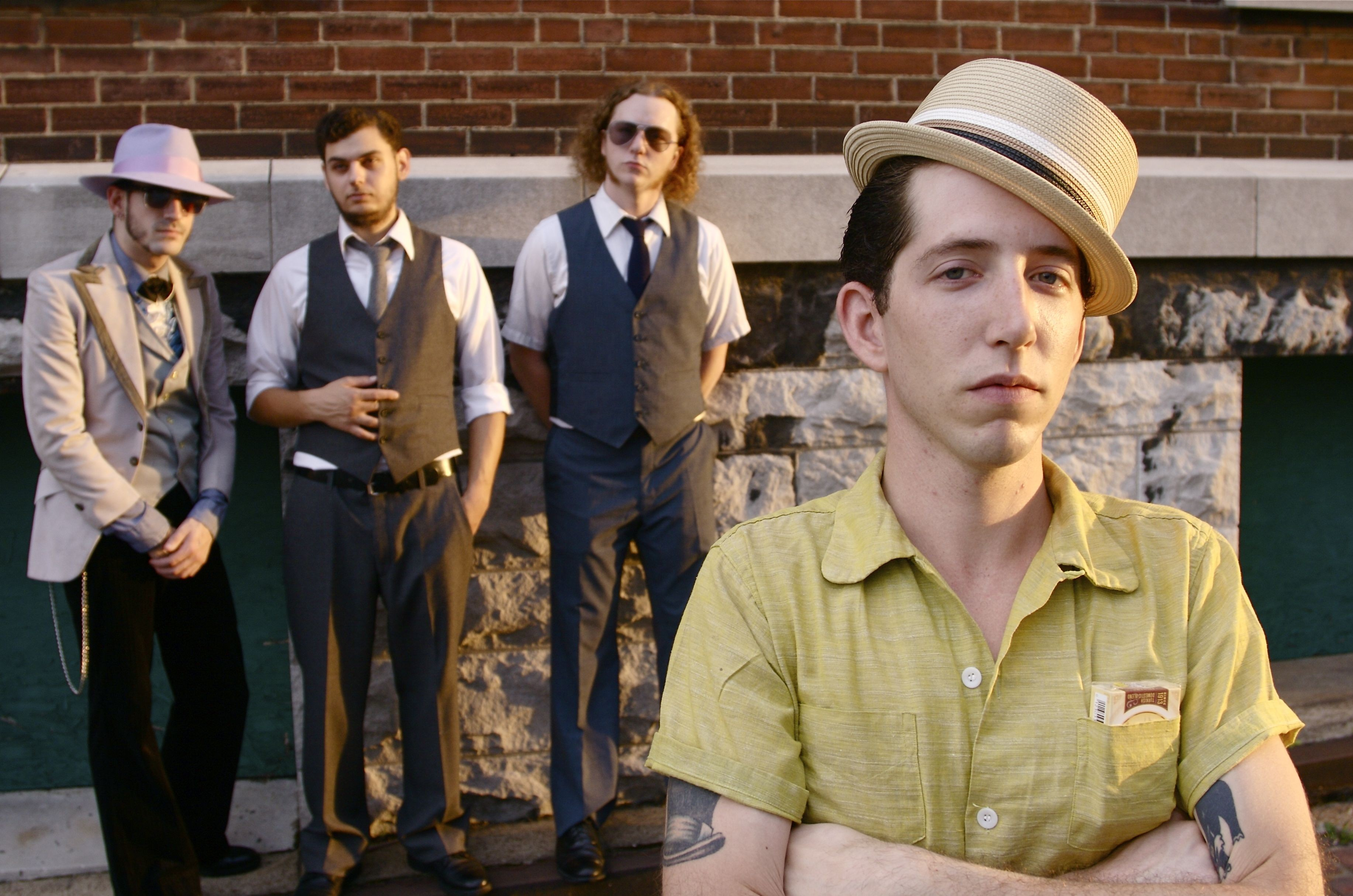 Pokey LaFarge and the South City Three