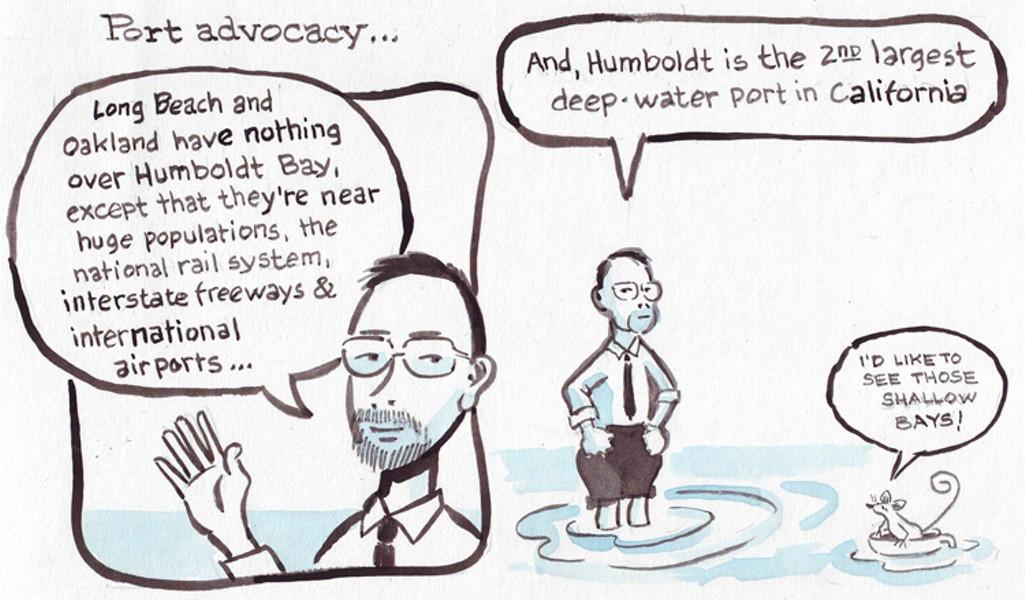 Port Advocacy - JOEL MIELKE