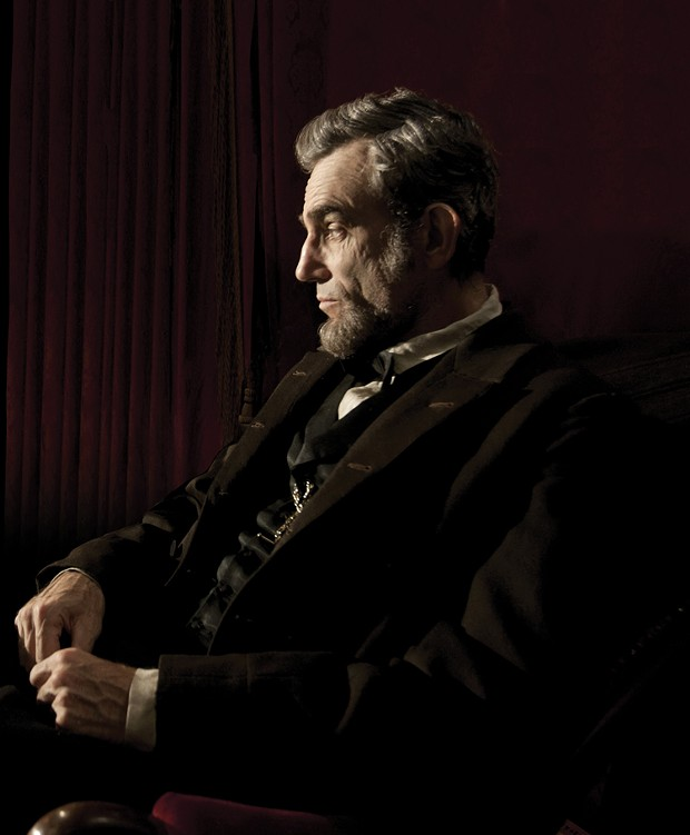 Posing for the penny? Daniel Day-Lewis as Honest Abe.
