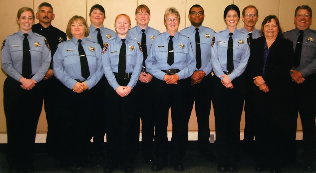 Eureka Police Services Officers pose for a group photo. - SUBMITTED PHOTO