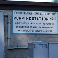Cup Runneth Over Pumping Station No. 6 replaced the original pump system that had supplied industrial customers. Photo by Heidi Walters