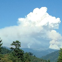 Humboldt Outside Pyrocumulus from the Corral Fire. Photo by Ken Malcomson