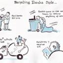 Recycling Eureka Style