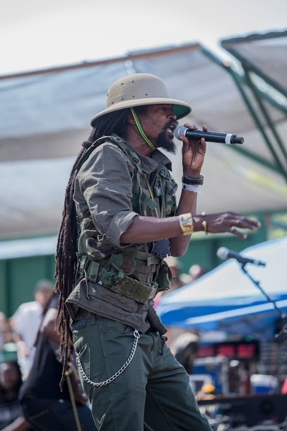 Kana Jah of I-Kronik performing at the 30th Annual Reggae On The River 2014, Friday Aug. 1. - ALEXANDER WOODARD