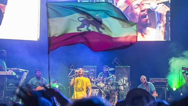 Reggae Legend Jimmy Cliff closing out night two of the 30th Annual Reggae On The River 2014, Saturday Aug. 2.