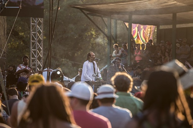 Israel Vibration performing at the 30th Annual Reggae On The River 2014, Sunday Aug. 3.
