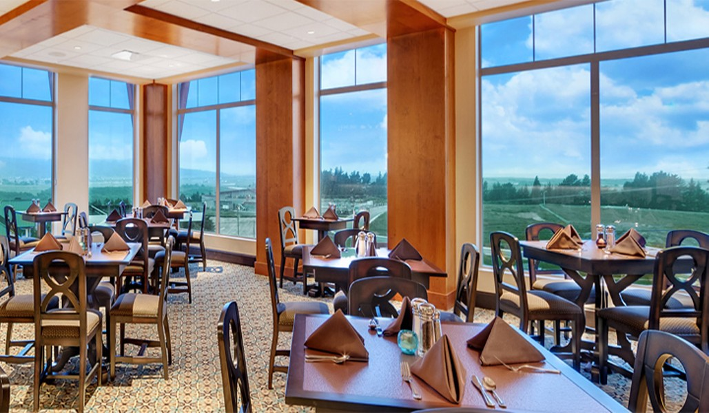 River S Edge Bear River Casino Resort Loleta Fine Dining