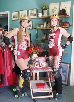 MEGHAN QUINTANILLA - Roller Derby Queens at The Hospice Shop