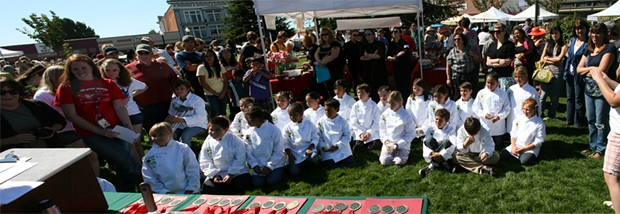 Salsa Chef All Stars on the Arcata Plaza - PHOTO BY BOB DORAN