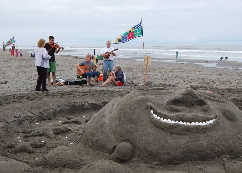 Sand sculpture at last year's festival - COURTESY OF FRIENDS OF THE DUNES