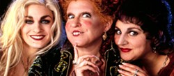 Sarah jessica parker, bette midler and kathy najimy star in hocus pocus, sunday at the arcata theatre lounge.
