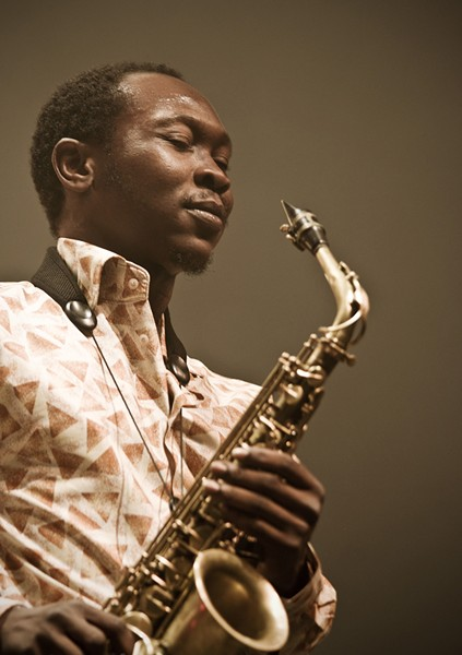 Seun Anikulapo Kuti - PHOTO BY BENOÎT DERRIER