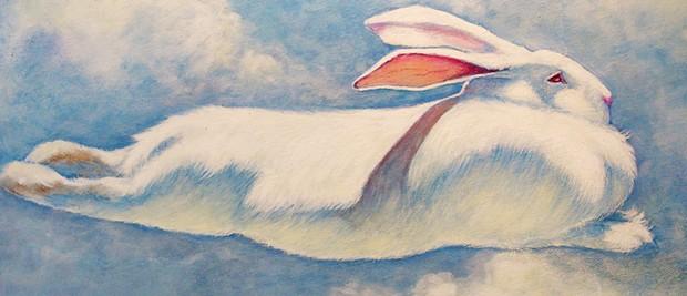 """Sky Bunny"" by Toni Magyar"