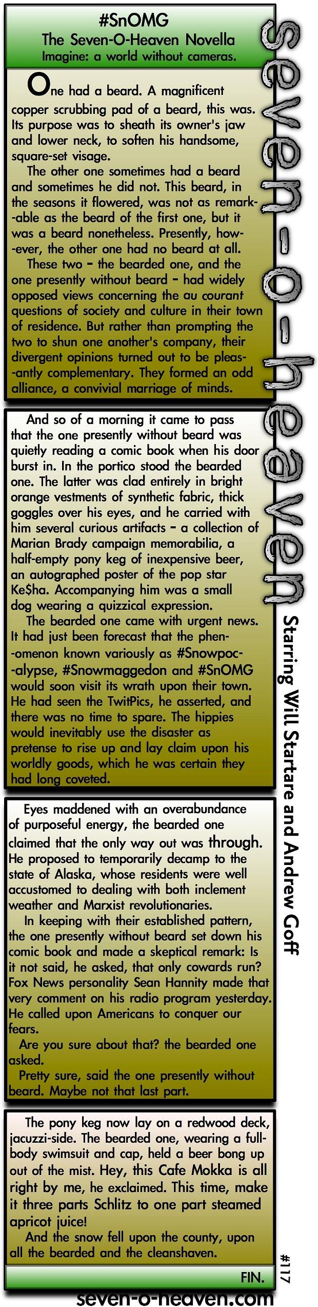 SnOMG: A Novella