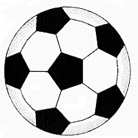 Symmetry Soccer ball. Illustration by Don Garlick.