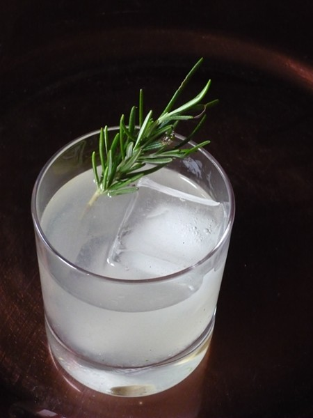 Spice Island cocktail with rosemary - PHOTO BY AMY STEWART