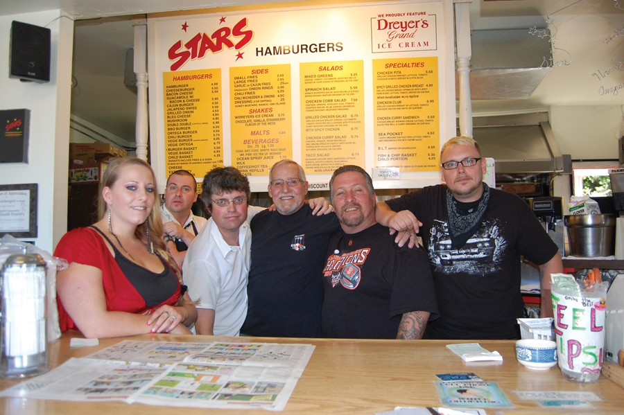 Stars' stars Krista Whitten, Chris Colland, Jesse Pearson, Joe Dunn, Ray Schick and Jessie Willis. - PHOTO BY ANDREW GOFF