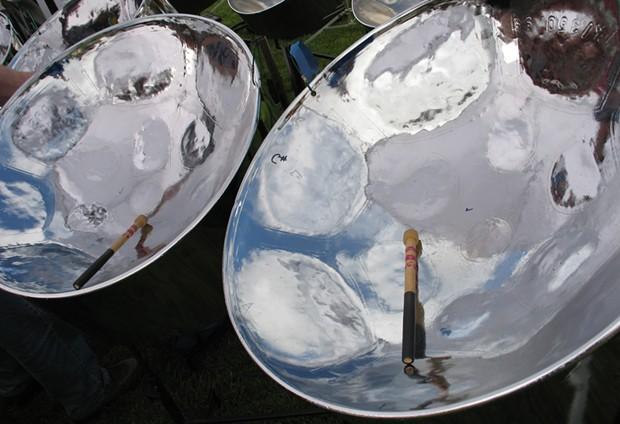 Steel Pans - PHOTO BY BOB DORAN