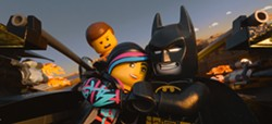 THE LEGO MOVIE - Still not the most plastic faces on screen.
