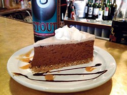 PHOTO BY JENNIFER FUMIKO CAHILL - Stout by the slice instead of the pint. Dehydrated?